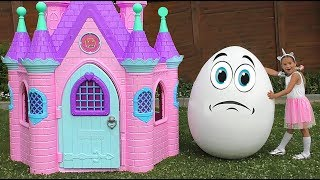 Sofia Fun Pretend Play with Playhouse for kids and plays with Humpty Dumpty