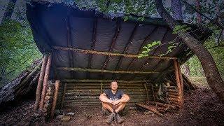 Bushcraft Super Shelter - Survival Camp 2.0 Lager Lagerbau - Deutschland deutsch #005