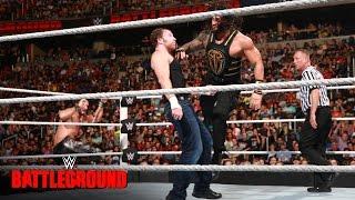"""بالفيديو- نتائج Battleground: أي عضو من أعضاء """"ذا شيلد"""" السابقين فاز ببطولة WWE؟"""