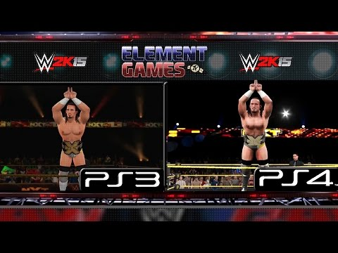 WWE 2K15 : Sting Entrance PS4 vs PS3 Comparison | Doovi