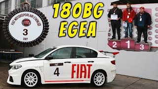 YARIŞTA 3. OLDUM ❗❗❗ MADALYA ALDIM 💪💪180 Hp Fiat Egea ile Yarışmak | TOSFED Yıldızını Arıyor