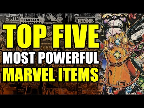 Top 5 Most Powerful Items in Marvel Comics