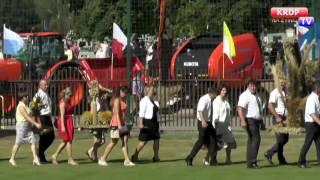 Dożynki Diecezji Płockiej 2016 - Wieczfnia Kościelna - KRDP TV