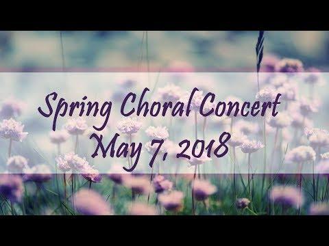 Choir Spring 2018