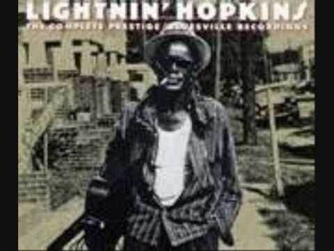 LIGHTNIN' HOPKINS ~ Catfish Blues