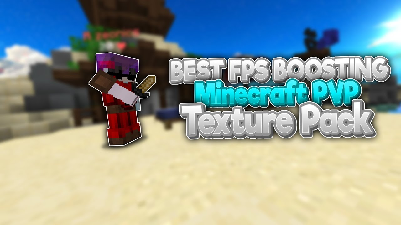 Best Fps Boosting Minecraft Pvp Texture Pack In Hypixel Bedwars Fps Boost 1 7 10 1 8 9 1 16 1 Youtube