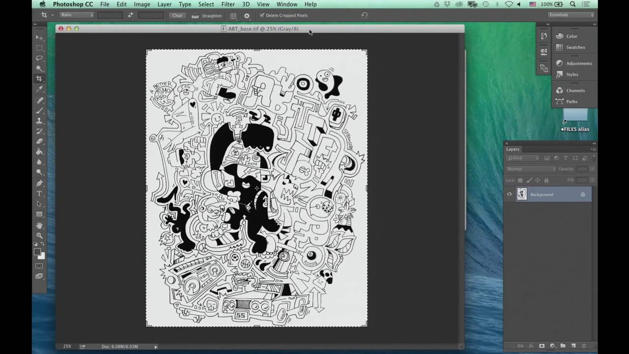 Adobe Photoshop Techniques For Graphic Design Kadenze Youtube