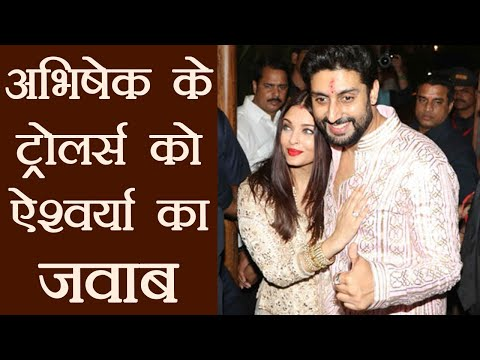 Aishwarya Rai Bachchan's BEFITTING REPLY to Abhishek's trollers through this video  FilmiBeat
