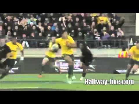 Folau Try Against All Blacks
