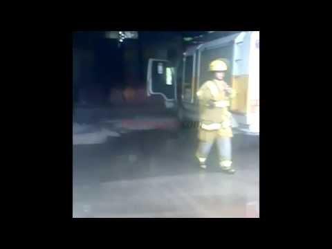 Tras el incendio, trabajan a contrarreloj para arrancar las clases el 10 de marzo