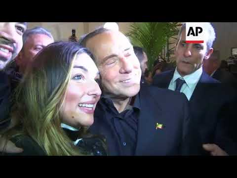 Berlusconi visits Naples ahead of Sunday's election