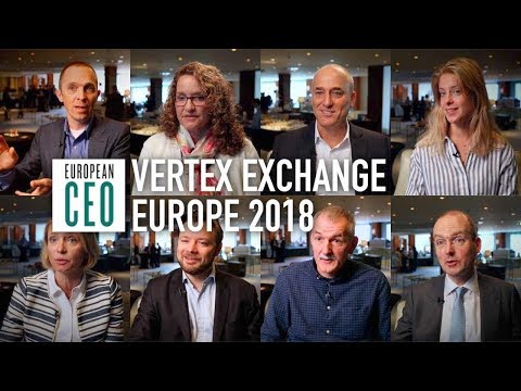Global tax experts share insights at Vertex Exchange Europe 2018 | European CEO