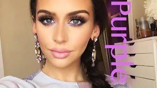 Purple Passion | Color Series +Makeup Tutorial Thumbnail