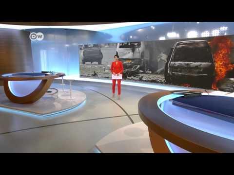 [Vizrt] 德國 DW Deutsche Welle News 攝影棚
