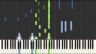 Louis Armstrong - What A Wonderful World (Advanced Piano Tutorial)