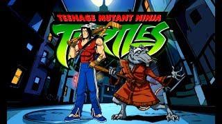 Teenage Mutant Ninja Turtles 2003 Video Game (PC) - Casey & Splinter Gameplay in Story Mode