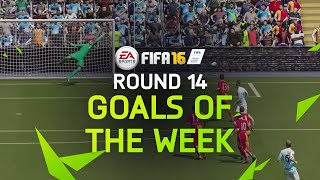 FIFA 16 - Best Goals of the Week - Round 14