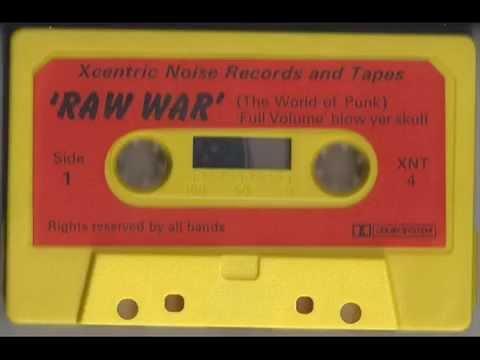 Raw War - The World Of Punk (Tape 1983)