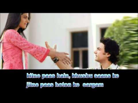 Mere Haath Mein   Karaoke with lyrics - YouTube.flv