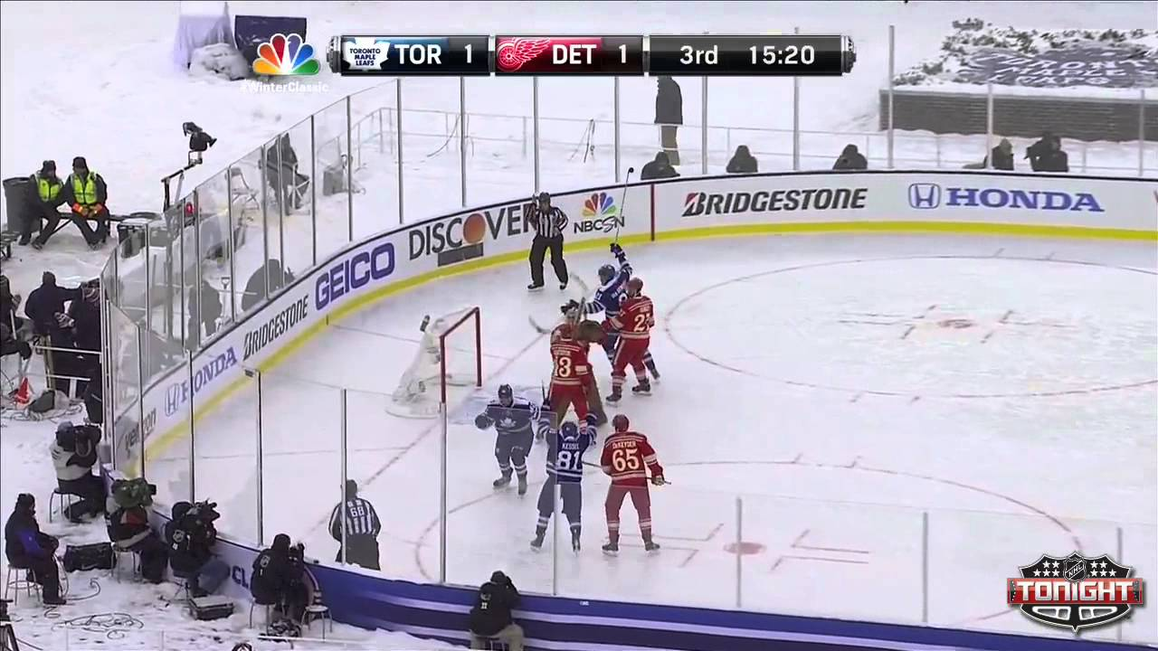 2014 NHL Winter Classic Highlights - Maple Leafs   Red Wings 01 01 ... 178e63dae