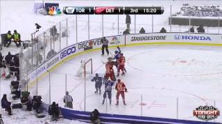 2014 NHL Winter Classic Highlights - Maple Leafs @ Red Wings 01/01/14