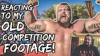 Reacting To Old Strongman Footage Of Myself