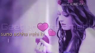 hamara haal na pucho ki diniya bhul bethe h | whatsapp states | lovely song