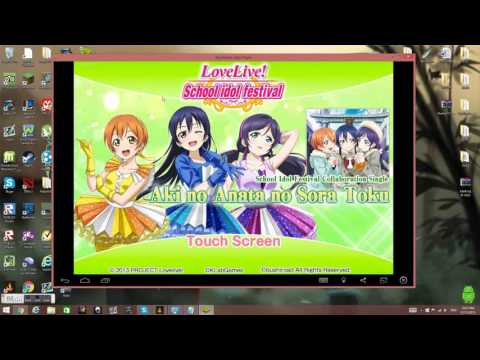How To Install Love Live School Idol Festival On Pc