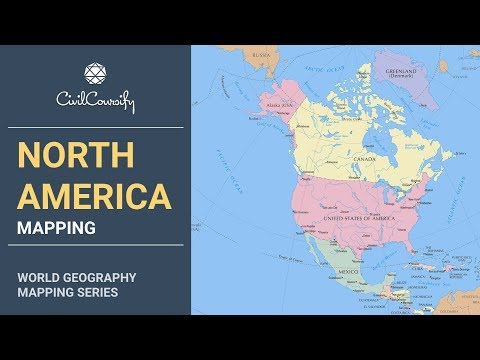 NORTH AMERICA || World Geography Mapping