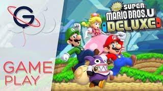 NEW SUPER MARIO BROS U DELUXE - Gameplay Nintendo Switch