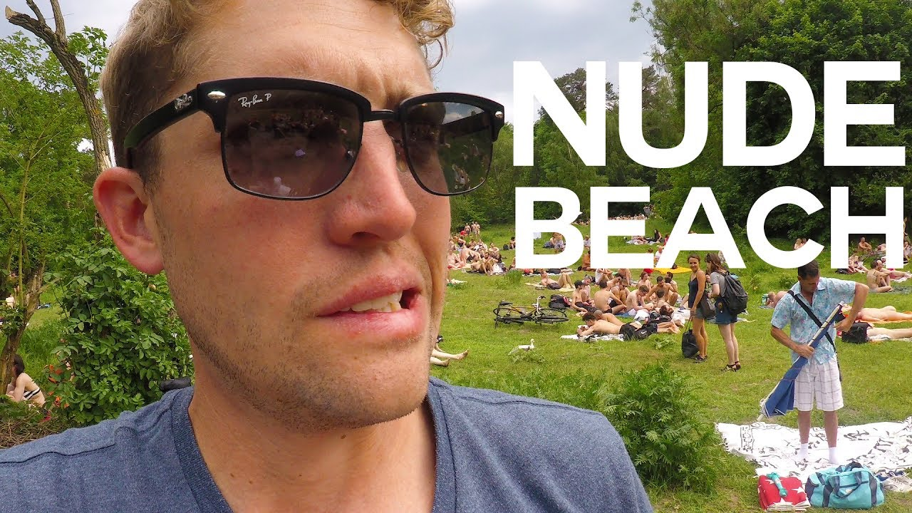 NUDE BEACH + DRONE SPYING IN GERMANY | Vlog #70