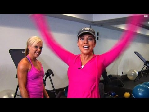 Robin Meade's Vegas Showgirl Workout