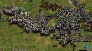American Conquest HEW mod:1809 Battle of Aspern-Essling 3v3 multiplayer