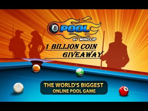 10 Billion Coin Giveaway 8 Ballpool please see my last video if u want to win Account