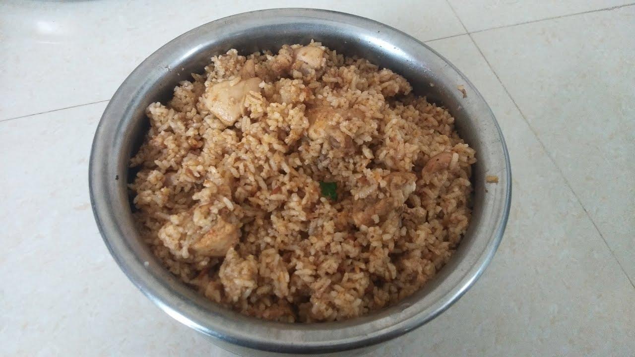 Dindigul thalappakatti chicken biriyani recipe in tamil/ seeraga samba rice chicken biryani  recipe