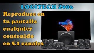 Porque no se escuchan todas las bocinas de las Logitech Z906?