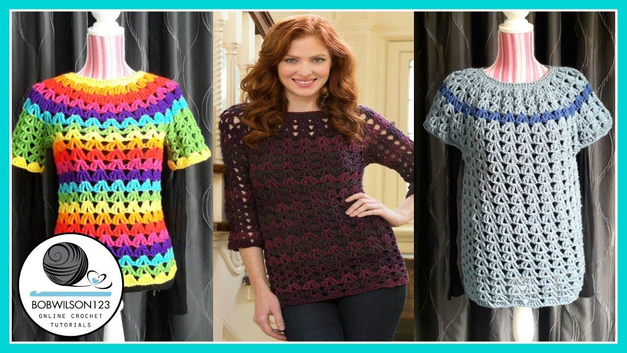 Crochet tunic tutorial part 13 smmedlg youtube bankloansurffo Gallery