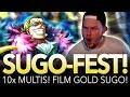 "TESORO SUGO-FEST! 10x MULTIS! ""FIGHTING GOOOOOLD!"" (ONE PIECE Treasure Cruise)"