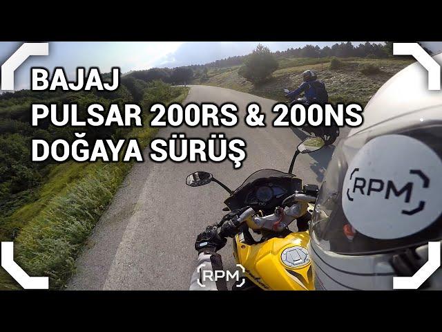 Bajaj Pulsar 200 RS & 200 NS - Doğaya Sürüş [RPM]