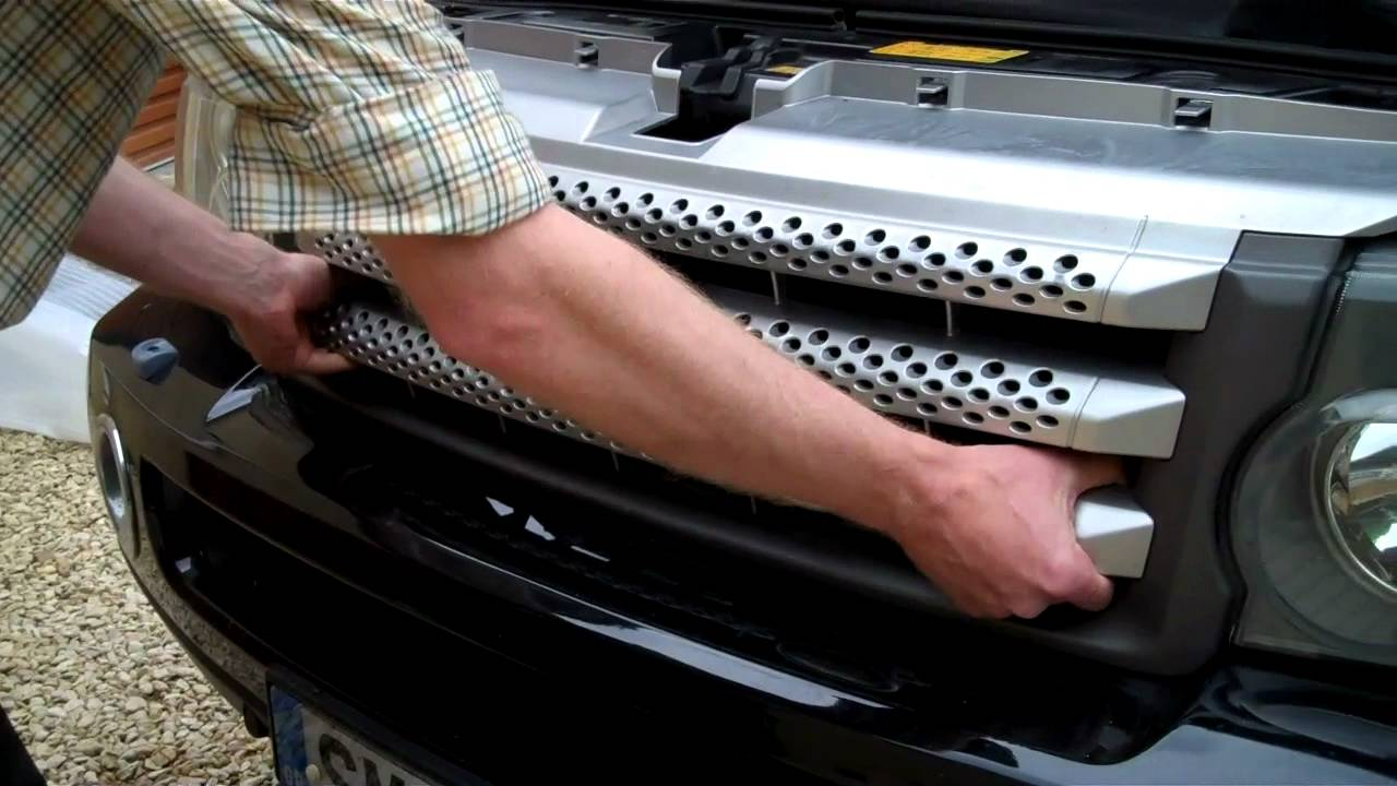 how to upgrade grille on Range Rover Sport Supercharged ...