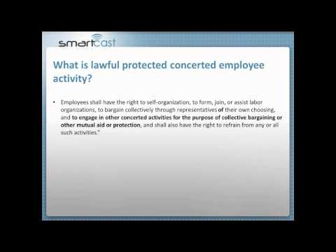 Smartcast: Protected Concerted Employee Activity