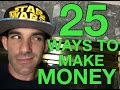 25 Ways to Make Money Online - With Reezy Resells #2017flipchallenge