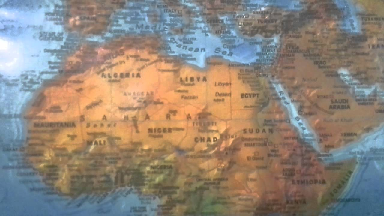 Which Is The Largest Country In Africa YouTube - Largest country in africa