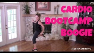 Burn fat, Burn calories, Aerobic, Full Length Workout Video: 25Minute Cardio Bootcamp Boogie