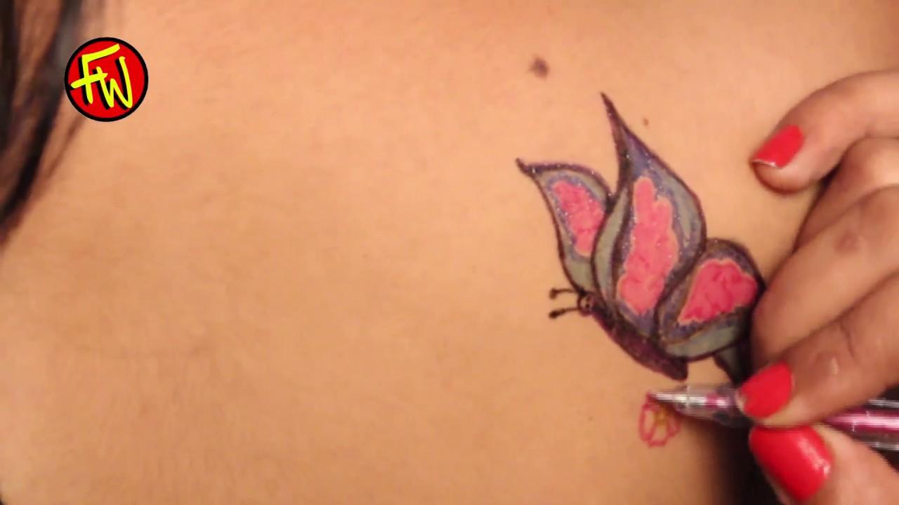 Butterfly Tattoo Designs On Women