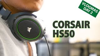 Corsair HS50 Review: A great $50 gaming headset!
