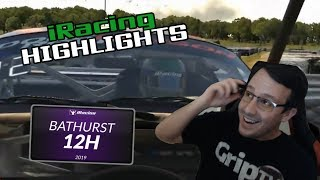 2019 iRacing Bathurst 12 Hour, Twitch Highlights (Fails, Wins and Funny Moments)