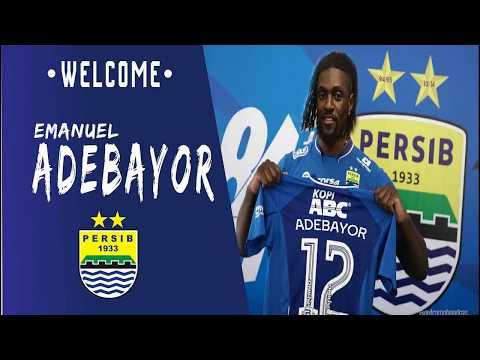 Emanuel Adebayor ● Welcome to Persib Bandung ● Skills & Goals-2017