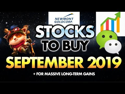 3 Stocks To Buy In September 2019