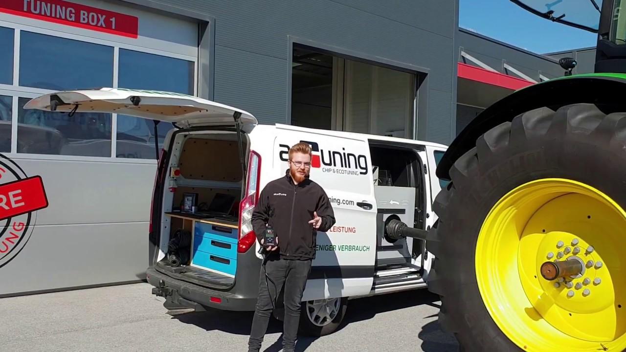 Tuning - John Deere   Tractor   8345R - 9 0L - 345HP - Tier3B
